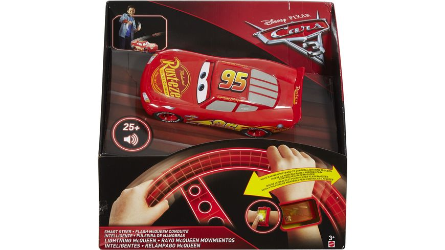Mattel Cars 3 Rennfahrer Lenkspass Lightning McQueen