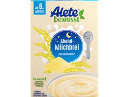 Alete Beikost Abend Milchbrei Griessbrei