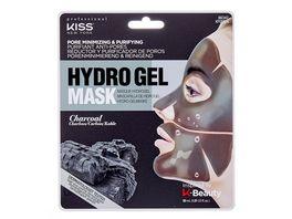 KISS Hydrogel Maske Charcoal