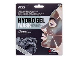 KISS Professional New York Hydrogel Maske Charcoal