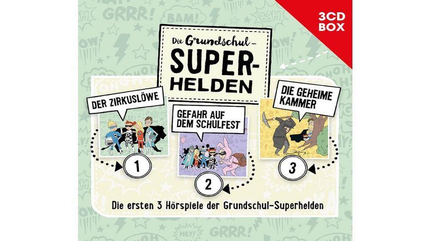 Die Grundschul Superhelden 3 CD Box Vol 1