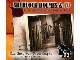 Sherlock Holmes Co Die Krimi Box 3 3 CDs