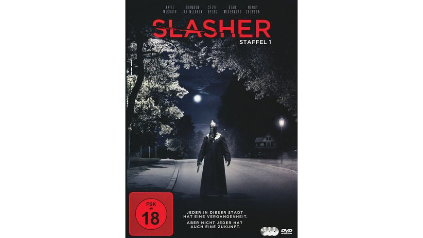 Slasher Die komplette 1 Staffel 3 DVDs