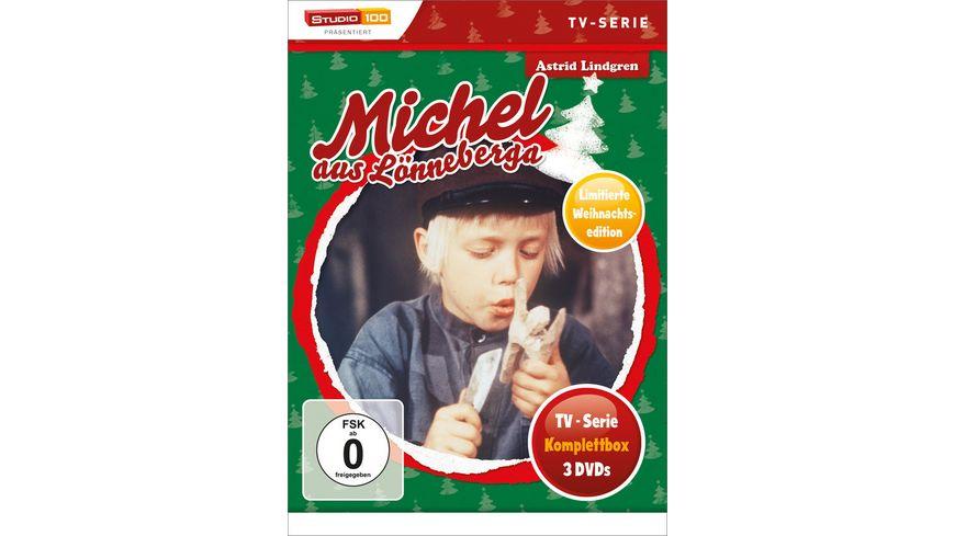 Michel aus Loenneberga TV Serien Box Christmas Limited Edition 3 DVDs