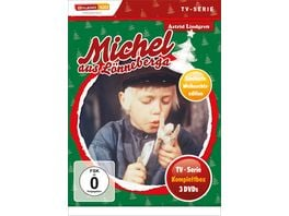 Michel aus Loenneberga TV Serien Box Christmas Limited Edition 3 DVDs