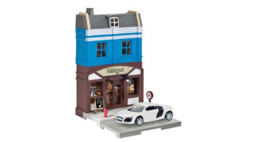 Herpa 800013 Herpa City Baeckerei mit Porsche