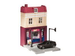 Herpa 800068 Herpa City Doener Imbiss mit Porsche