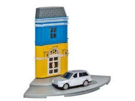Herpa 800082 Herpa City Post Shop mit Porsche