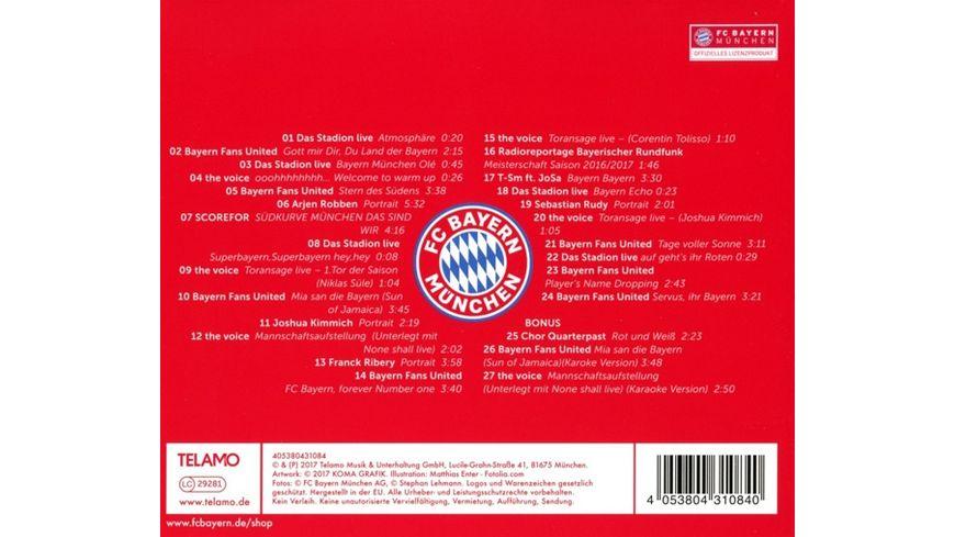 FC Bayern der Soundtrack zur Saison 17 18