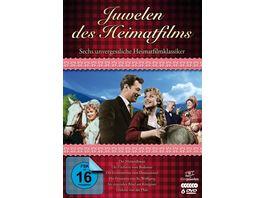 Juwelen des Heimatfilms Sechs unvergessliche Heimatfilmklassiker 6 DVDs