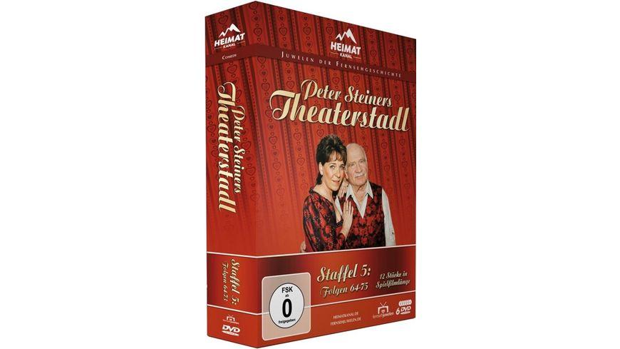 Peter Steiners Theaterstadl Staffel 5 Folgen 64 75 6 DVDs