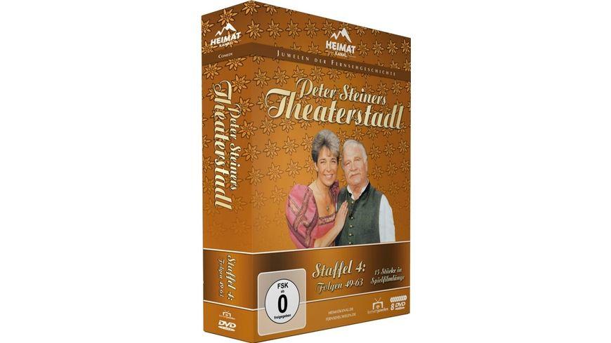 Peter Steiners Theaterstadl Staffel 4 Folgen 49 63 8 DVDs