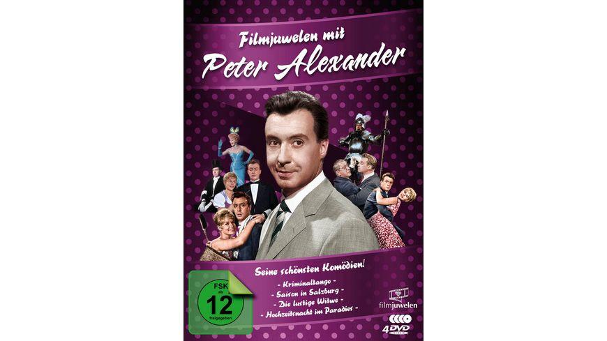 Peter Alexander Filmjuwelen Seine schoensten Komoedien 4 DVDs