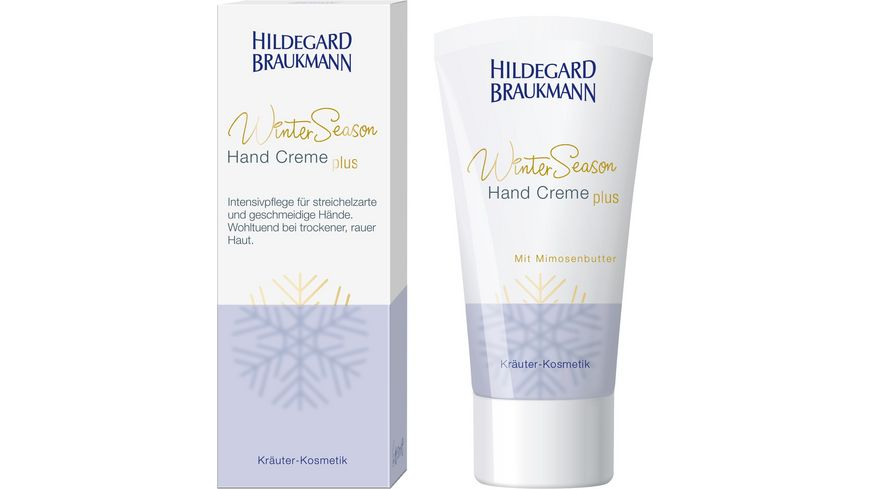 HILDEGARD BRAUKMANN Winter Season Hand Creme plus