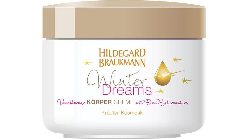 HILDEGARD BRAUKMANN Winter Dreams Koerper Creme