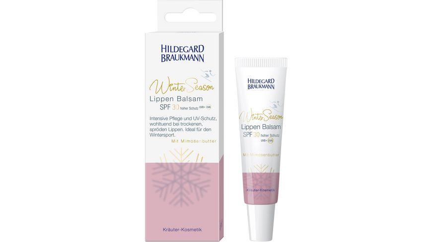 HILDEGARD BRAUKMANN Winter Season Lippen Balsam SPF 30