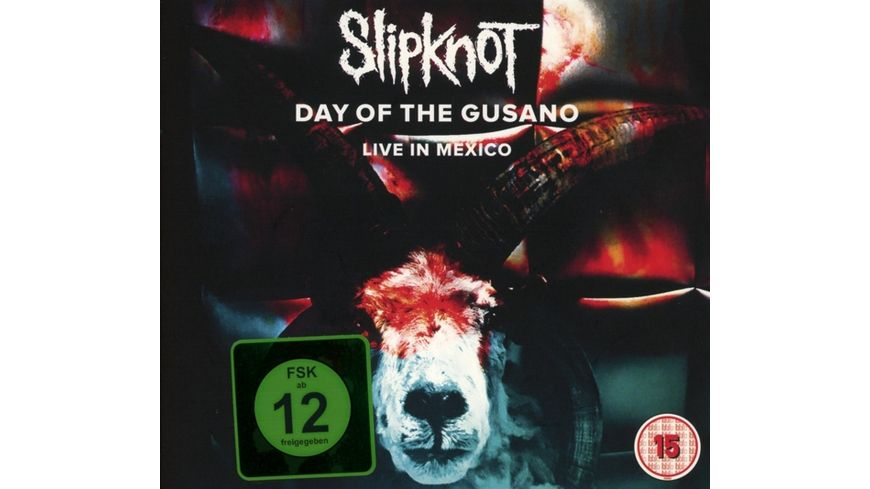 Day Of The Gusano Live In Mexico CD DVD