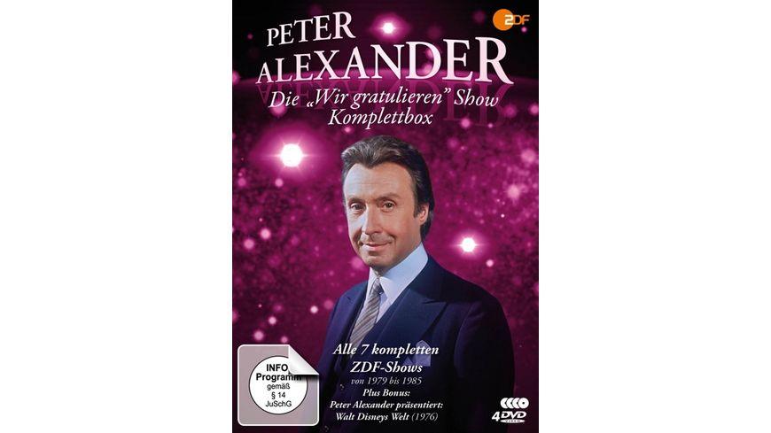 Die Peter Alexander Wir gratu