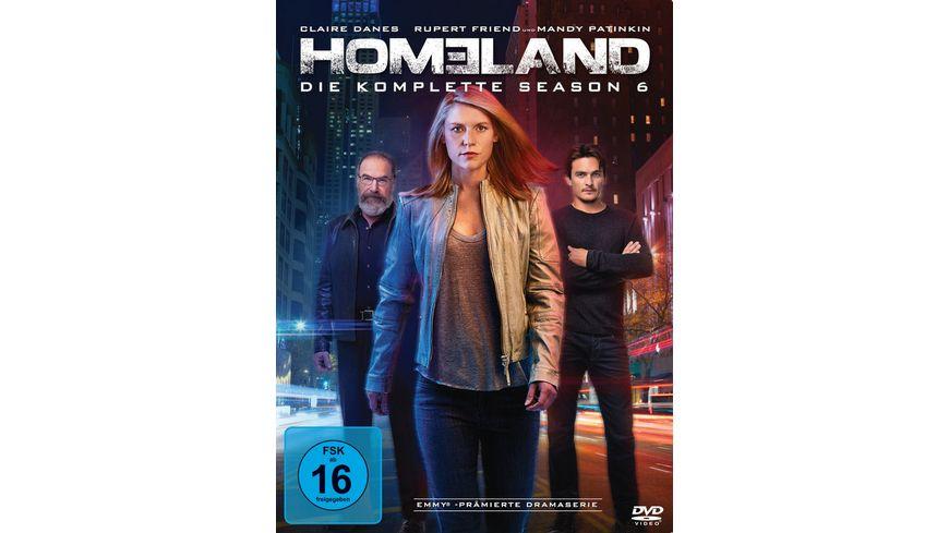 Homeland Season 6 4 DVDs
