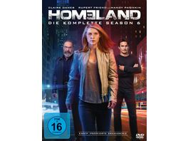 Homeland Season 6 4 DVDs