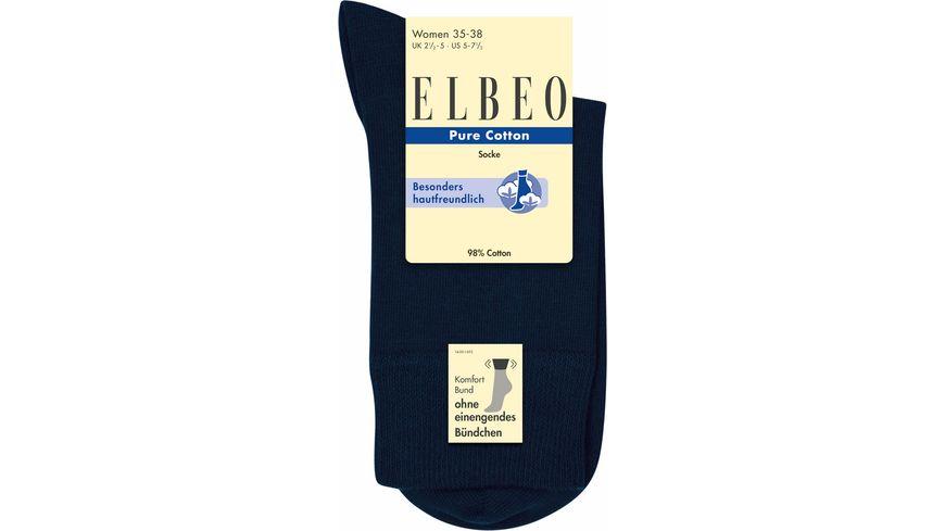 ELBEO Damensocke Pure Cotton Sensitive