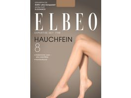ELBEO Damen Feinstrumpfhose Hauchfein 8 DEN