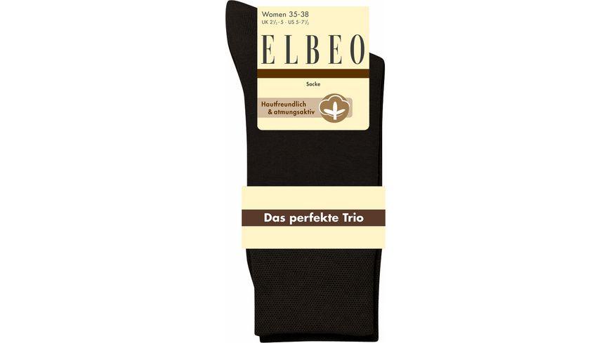 ELBEO Damensocken Das Perfekte Trio 3er Pack