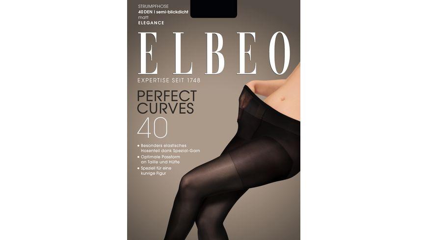 ELBEO Damen Feinstrumpfhose Perfect Curves 40 DEN