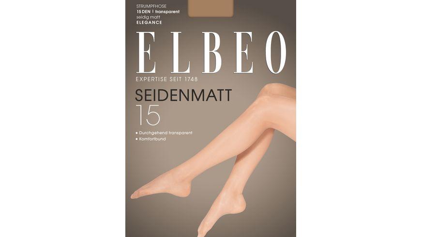 ELBEO Strumpfhose Seidenmatt 15
