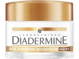 DIADERMINE AGE SUPREME Regeneration Intensiv Maske