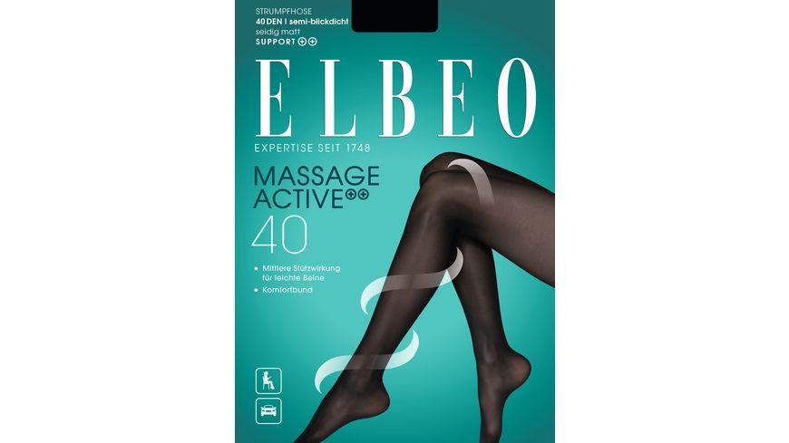 ELBEO Damen Feinstrumpfhose Massage Active 40 DEN