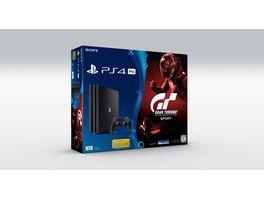 PS4 Pro Konsole 1 TB inkl Gran Turismo Sport