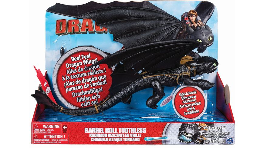 Spin Master Dragons Barrel Roll Toothless