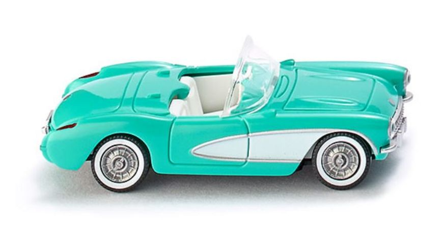 Wiking 0819 04 30 Chevrolet Corvette tuerkis
