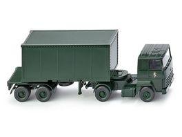 WIKING 069624 Containersattelzug Ford Transcontinental Brigade Berlin