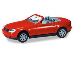 Herpa 012188 004 Herpa MiniKit MB SLK Roadster rot