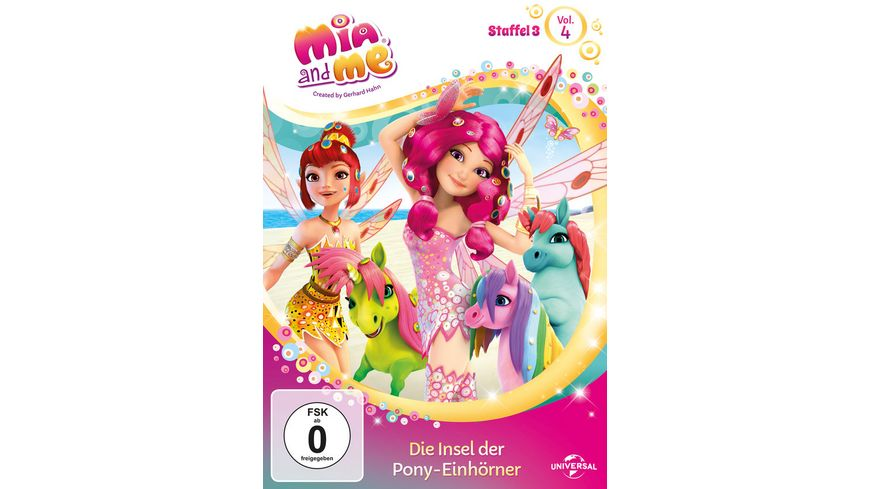 Mia and Me Staffel 3 4 Die Insel der Pony Einhoerner
