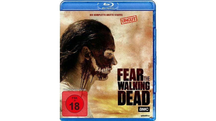 Fear the Walking Dead Die komplette dritte Staffel Uncut 4 BRs