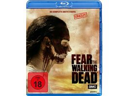 Fear the Walking Dead Die komplette dritte Staffel Uncut 4 BRs
