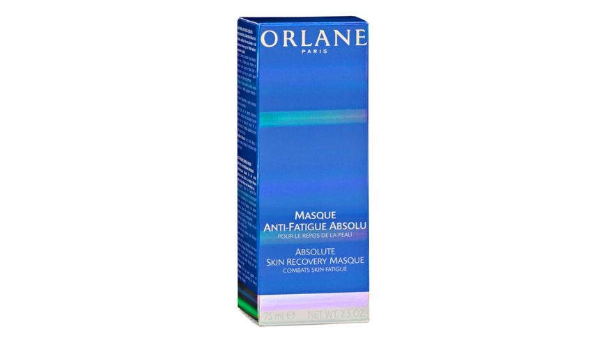 ORLANE PARIS Masque Anti Fatigue Absolu