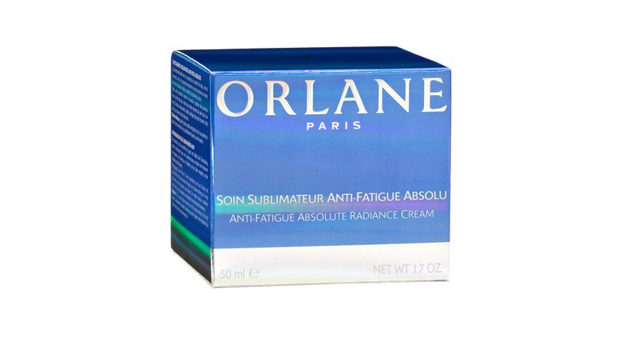 ORLANE PARIS Anti Fatigue Soin Sublimateur