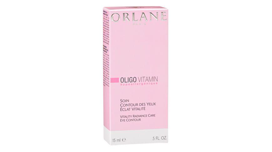ORLANE PARIS Oligo Vitamin Soin Contour Des Yeux Eclat Vitalite
