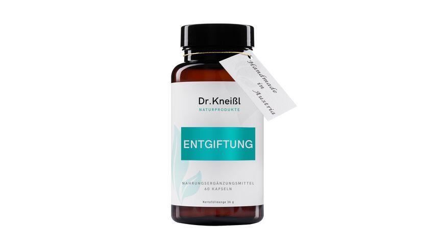 Dr Kneissl Naturprodukte Entgiftung Kapseln Nahrungsergaenzung