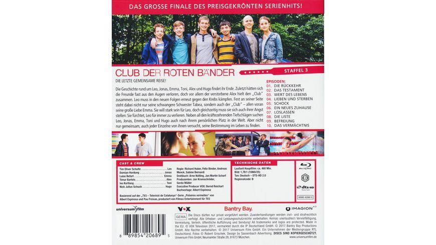 Club der roten Baender Staffel 3 2 BRs
