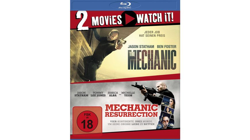 The Mechanic Mechanic Resurrection 2 BRs