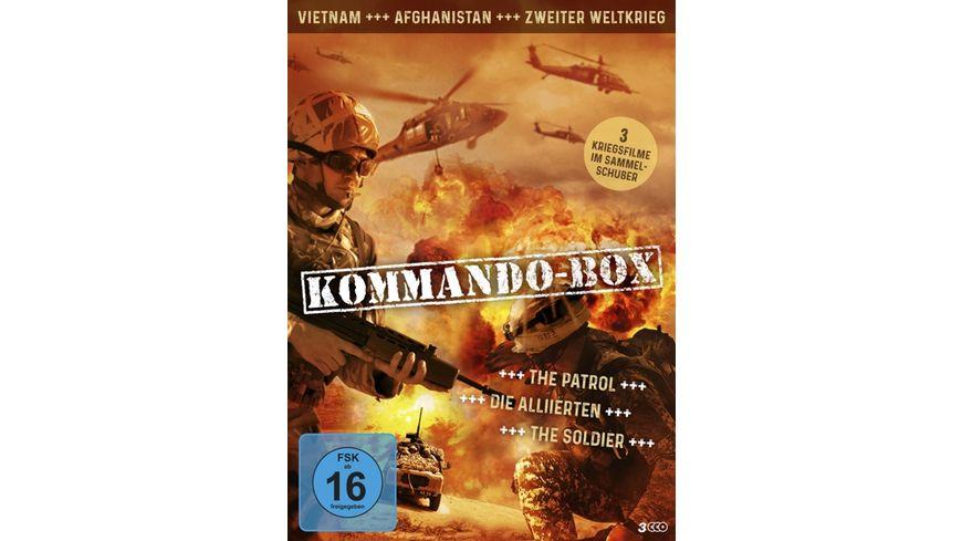 Kommando Box 3 Kriegsfilme im Sammelschuber 3 DVDs