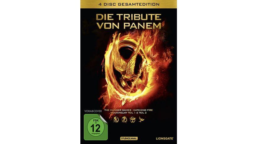 Die Tribute von Panem Gesamtedition 4 DVDs