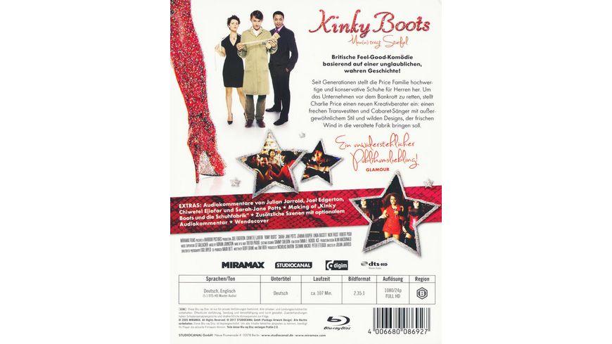 Kinky Boots Man n traegt Stiefel