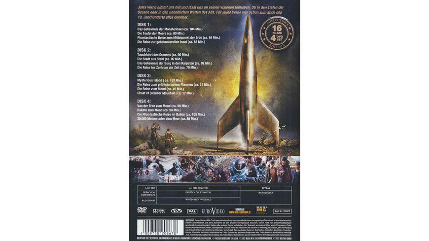 Jules Verne Gesamtbox 4 DVDs
