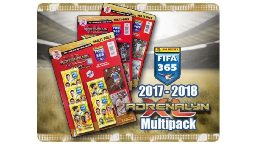 Panini FIFA 365 Adrenalyn Saison 17 18 XL Multipack